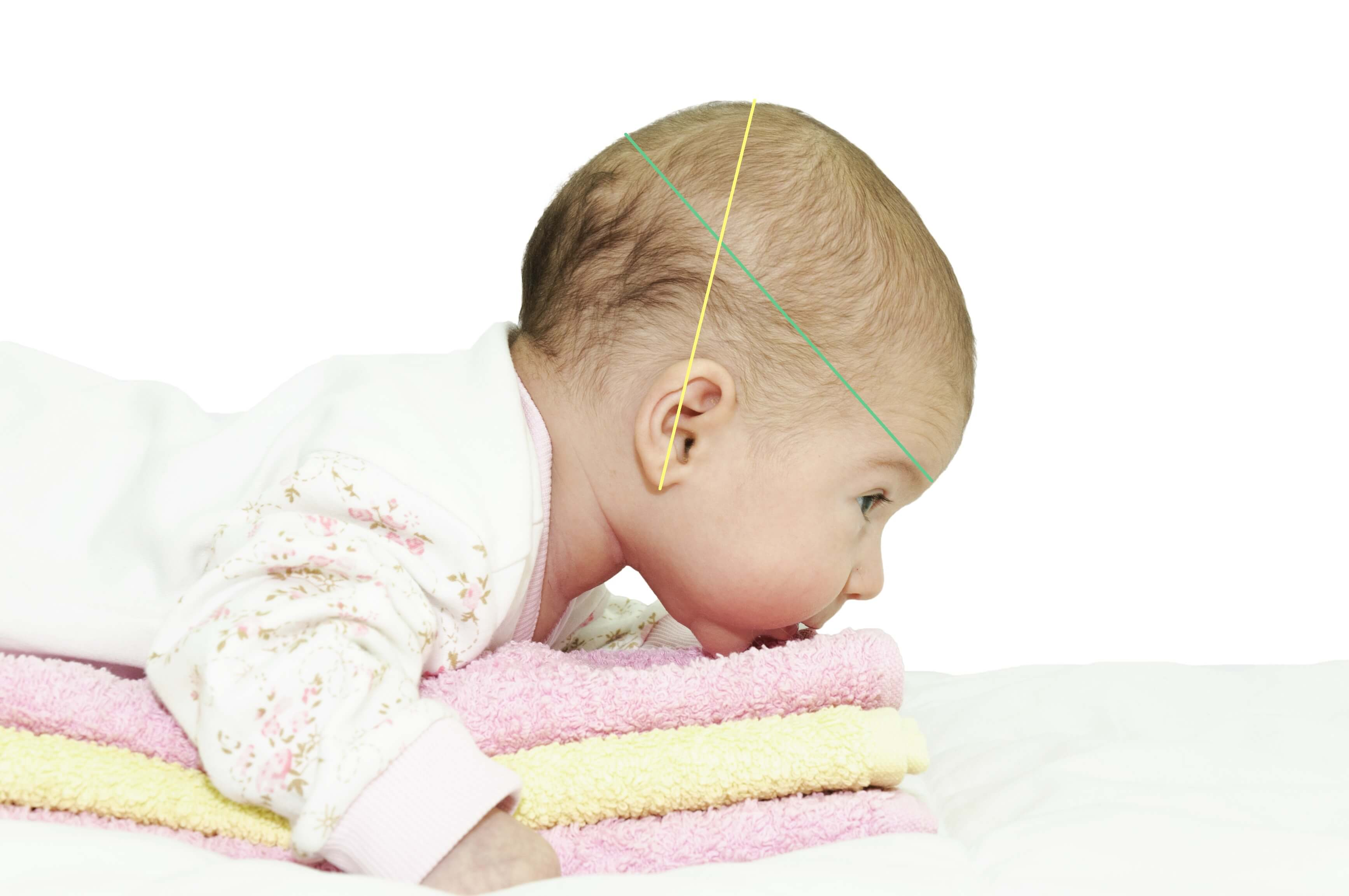 Lapse peaümbermõõdu ja sügavuse mõõtmine