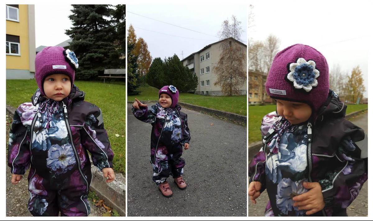 talvemüts tüdrukule, talvemüts beebile, talvemüts lastele, laste talvemüts